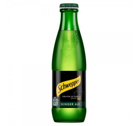 Schweppes Canada Dry Ginger Ale NRB 200ml - Case of 24