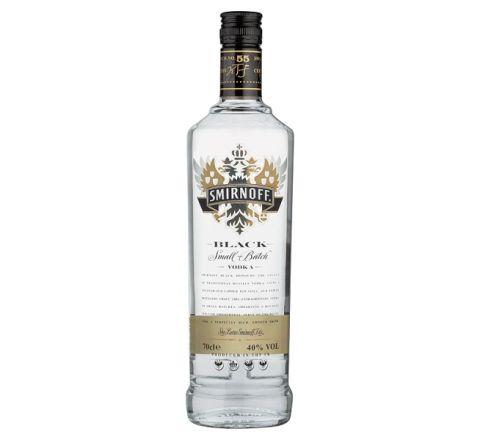 Smirnoff Black Vodka 70cl - Case of 6