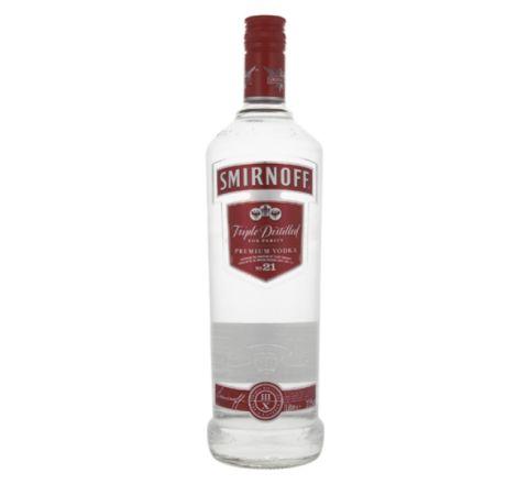 Smirnoff Red Label Vodka 1 Litre