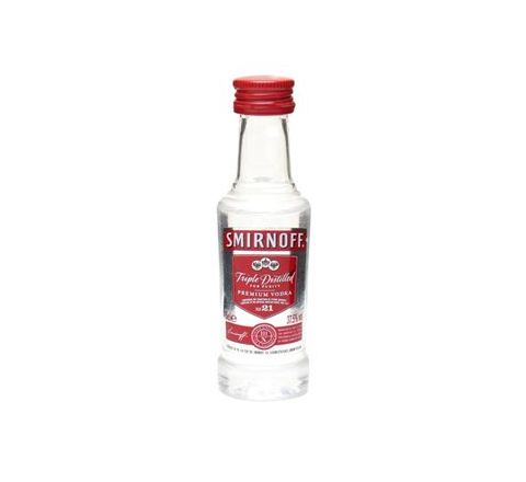 Smirnoff Red Label Vodka Miniature 5cl - Case of 120