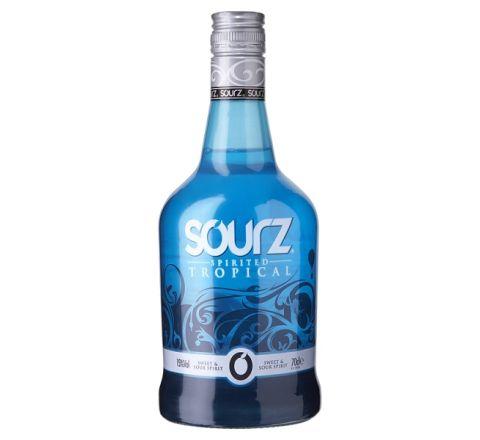 Sourz Tropical Blue 70cl - Case of 6