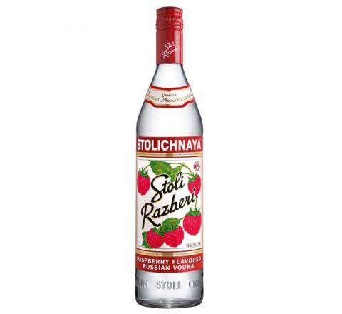 Stolichnaya Raspberry Vodka 70cl - Case of 6