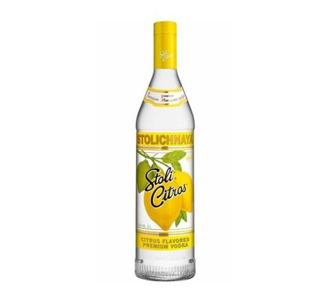 Stolichnaya Citros Vodka 70cl - Case of 6