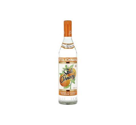 Stolichnaya Orange Vodka 70cl - Case of 6