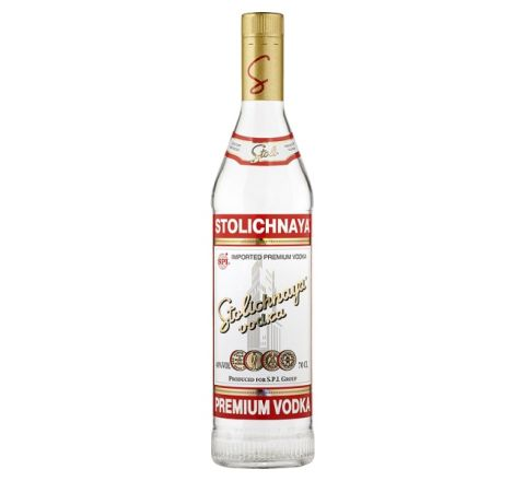 Stolichnaya Red Vodka 70cl - Case of 6