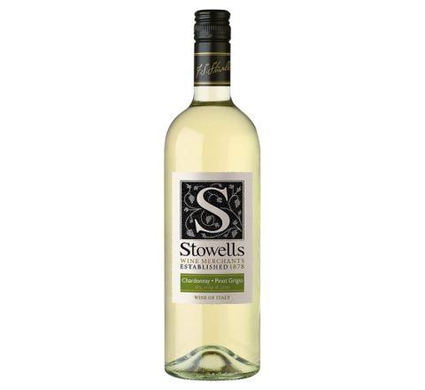 Stowells Chardonnay Pinot Grigio Wine 75cl - Case of 6