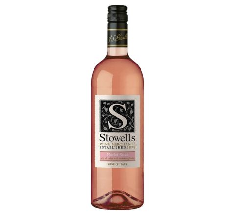 Stowells Merlot Rosé Wine 75cl - Case of 6