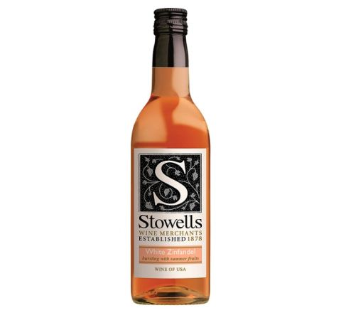 Stowells White Zinfandel Wine Miniature 187ml - Case of 12