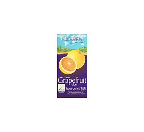 Sunpride 100% Grafefruit Juice 1 Litre - Case of 12