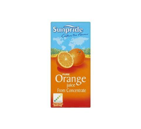 Sunpride 100% Orange Juice 1 Litre - Case of 12