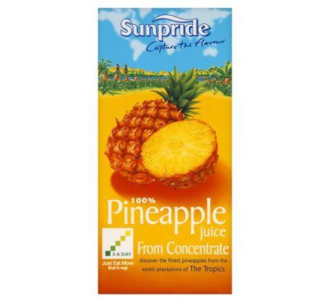 Sunpride 100% Pineapple Juice 1 Litre - Case of 12