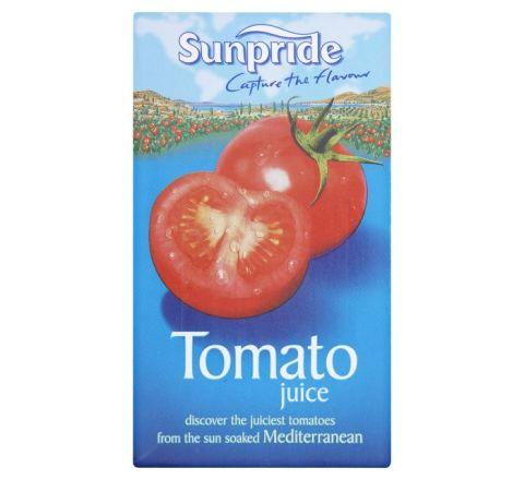 Sunpride 100% Tomato Juice 1 Litre - Case of 12