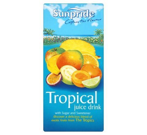 Sunpride 100% Tropical Juice 1 Litre - Case of 12