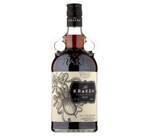 The Kraken Black Spiced Rum 70cl - Case of 6