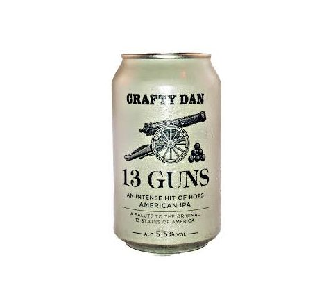 Thwaites Crafty Dan 13 Guns Beer Can 330ml - Case of 24