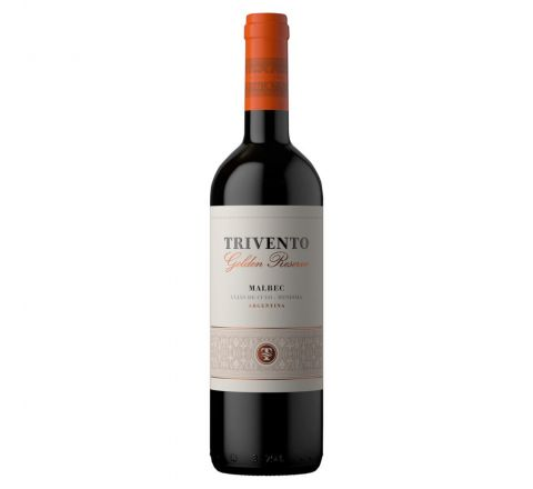 Trivento Golden Reserve Malbec Wine 75cl - Case of 6