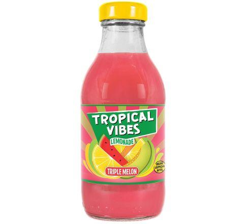 Tropical Vibes Lemonade Triple Melon NRB 300ML - CASE OF 15