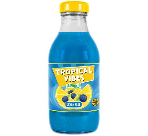 Tropical Vibes Lemonade Ocean Blue NRB 300ML - CASE OF 15