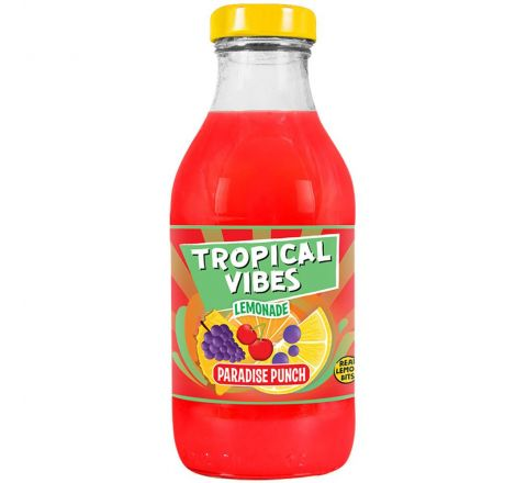 Tropical Vibes Lemonade Paradise Punch NRB 300ML - CASE OF 15