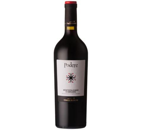 Umani Ronchi Podere Montepulciano d'Abruzzo 2015 Wine 75cl - Case of 6