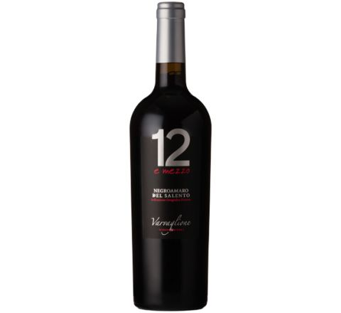 Varvaglione Negroamaro del Salento 2015 Wine 75cl - Case of 6