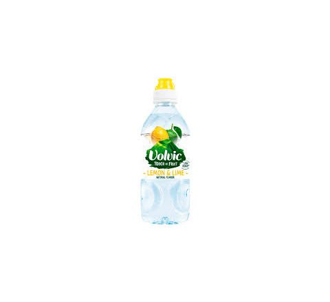 Volvic Touch of Fruit Lemon & Lime Sports Cap Water 750ml - Case of 6