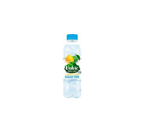 Volvic Touch of Fruit Lemon & Lime Sugar Free Water 500ml - Case of 12