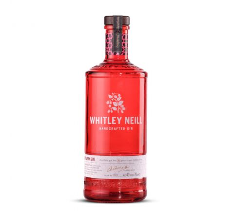 Whitley Neill Raspberry Gin 70cl - Case of 6