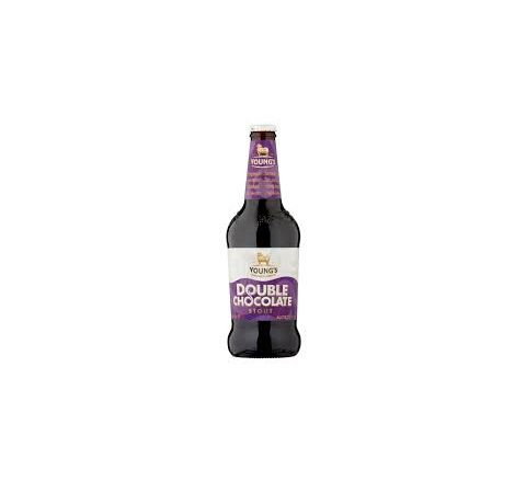 Young's Double Chocolate Stout beer NRB 500ml - Case of 8