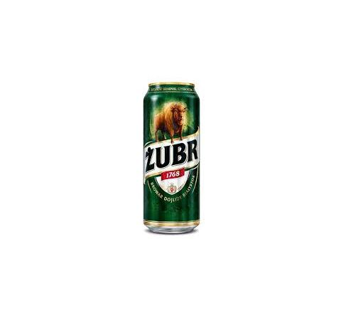 Żubr Beer can 500ml - Case of 24